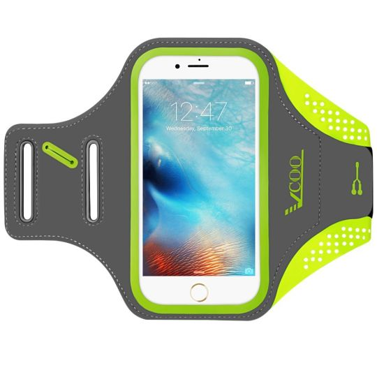 Today Deals 47% OFF iPhone 6 Plus / 7 Plus Arm Band Workout Holder Build in Key  Headphone Card/Cash | Amazon:   Today Deals 47% OFF iPhone 6s Plus Armband iPhone 6 Plus / 7 Plus Arm band VCOO Running Case for Phone With 5.5 Inch Screen or less Workout Holder Build in Key  Headphone Card/Cash | Amazon #TodayDeals #DailyDeals #DealoftheDay - Designed With Dual D Slots For Adjustment To Fit Different Size Of Arms: Perfect for men and women who love to keep fit/exercise whilst they listen to…