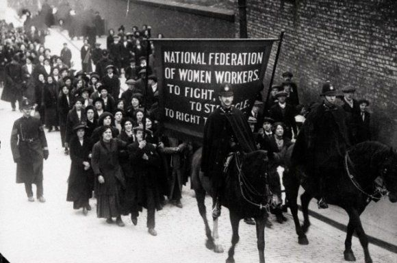 1910 Mortons Workers March | West Ferry Rd (North) | Isle of Dogs Heritage  History