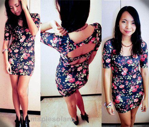 17 best ideas about Floral Bodycon Dresses on Pinterest   Women's ...