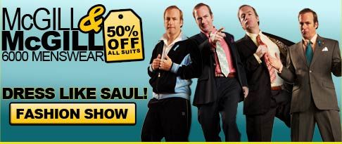 Dress Like Saul! Click for a fashion show!