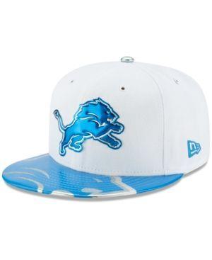 New Era Boys' Detroit Lions 2017 Draft 59FIFTY Cap - Blue 6 3/4