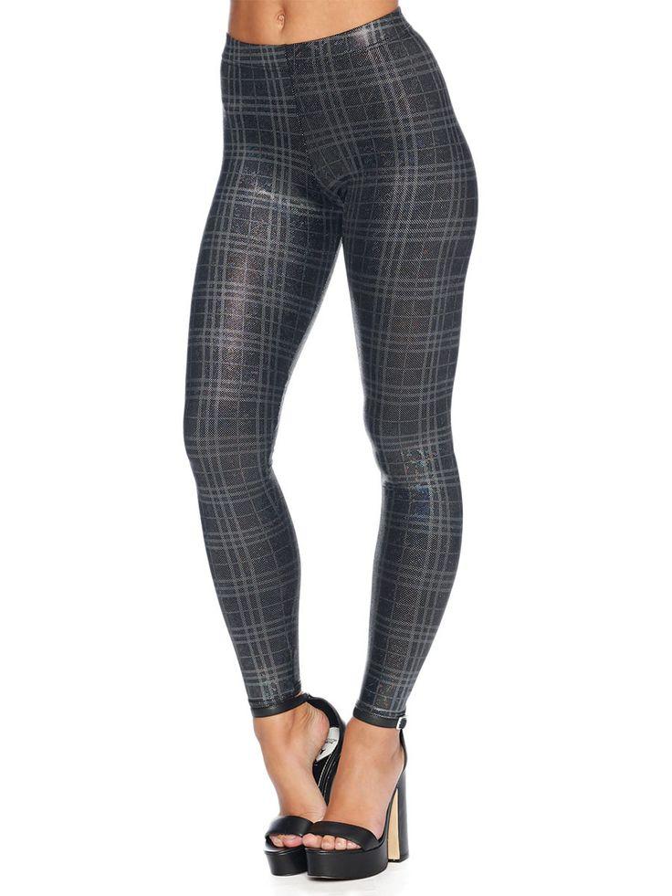 Disco Storm Tartan Leggings - LIMITED (AU $80AUD) by Black Milk Clothing