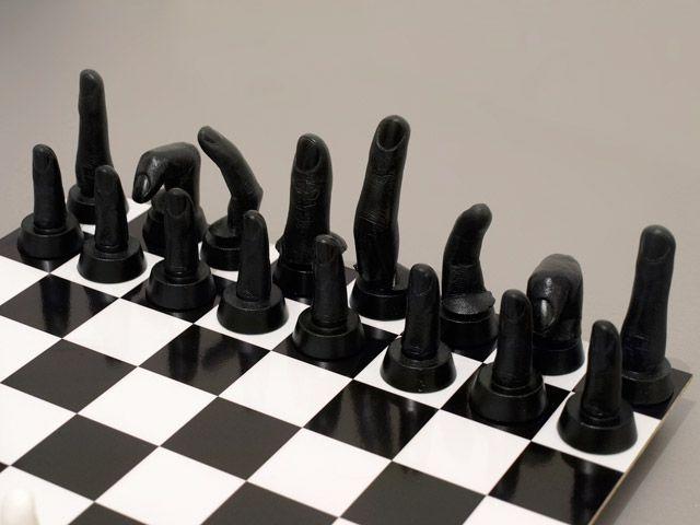 Jeu d'échec / chess game fingers