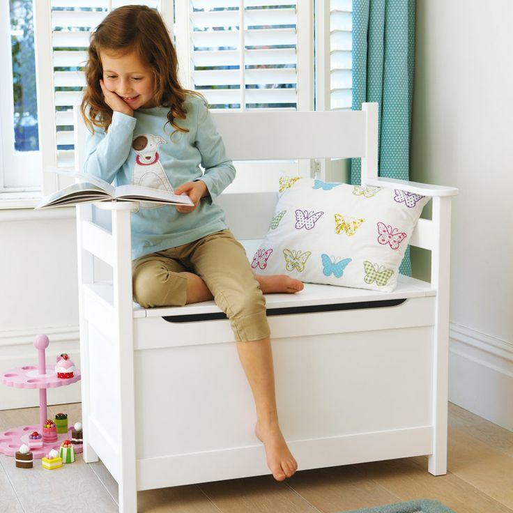 Kipling Storage Bench - Toy Boxes & Toy Storage - Storage - gltc.co.uk