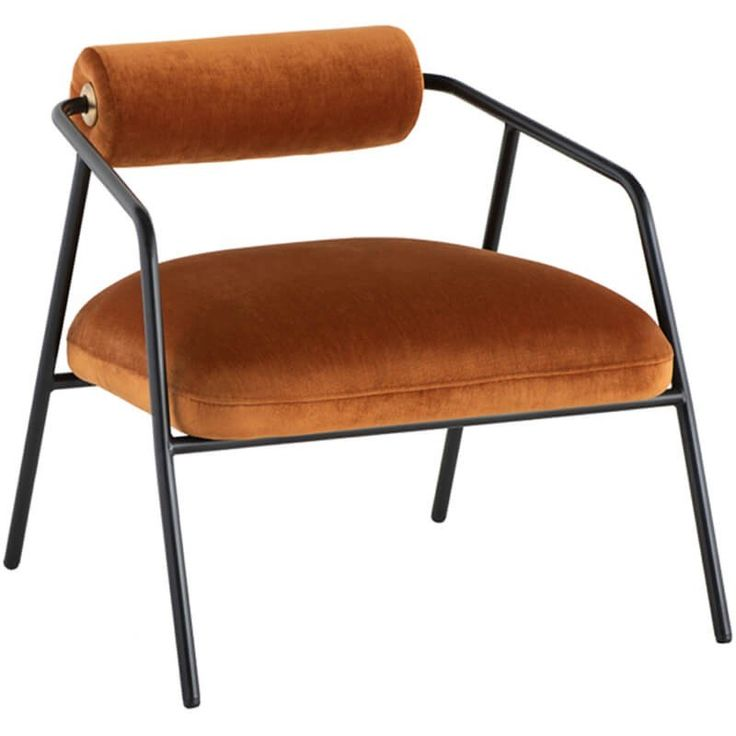 Cyrus chair rust occasional chairs accent chairs