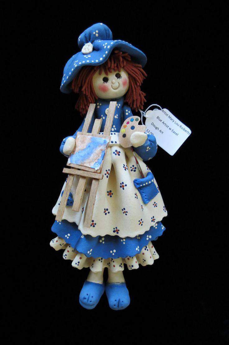Artist Dough Art Doll