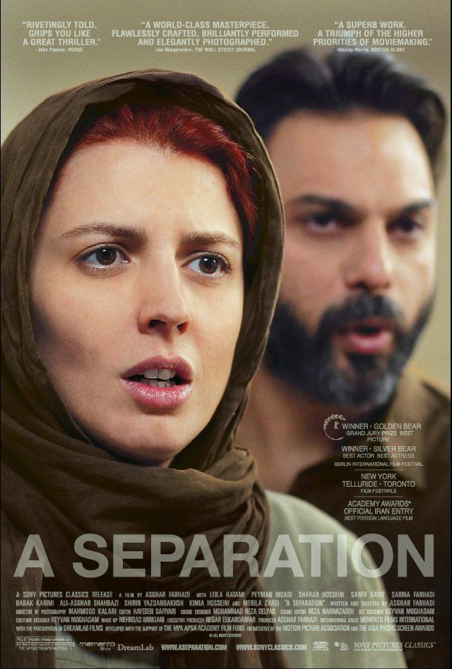 A Separation (Jodái-e Náder az Simin, The Separation Of Nader From Simin)