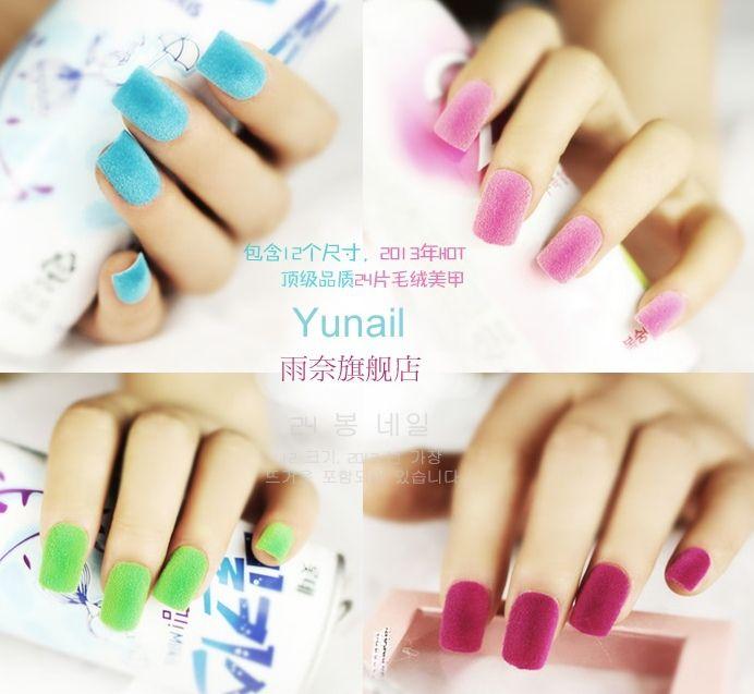 Gratis verzending een doos Fluwelen gebruikt met gel nagellak poeder Voor Nail Art decoraties nail sticker Nail Gel gereedschap M841