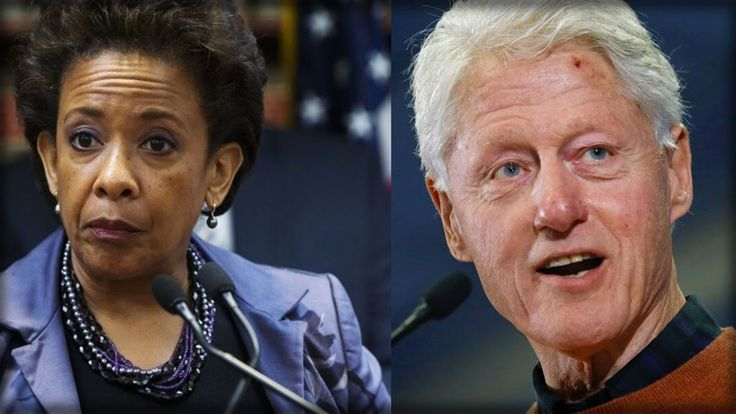 LORETTA LYNCH MAKES SHOCKING ADMISSION ABOUT MEETING WITH BILL CLINTON O...