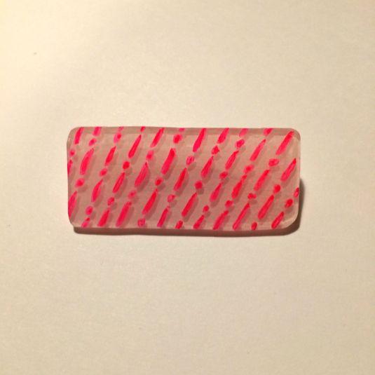 雨柄ブローチ | ハンドメイド、手作り作品の通販 minne(ミンネ)