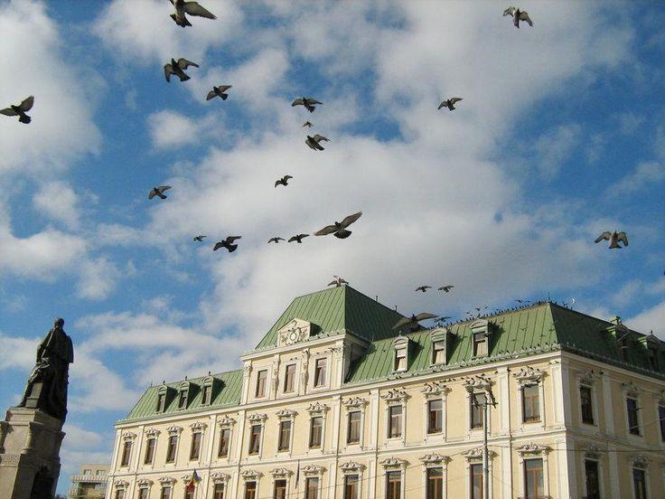 Piata Unirii Union Square Iasi Romania Moldova Moldavia