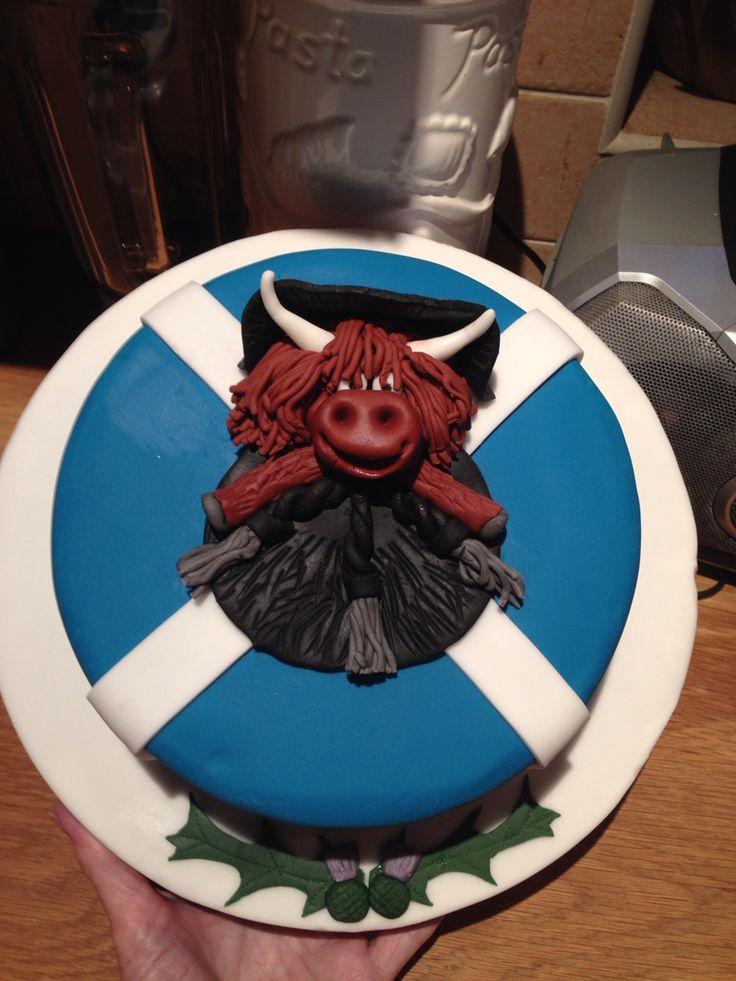 St Andrews Day Cake