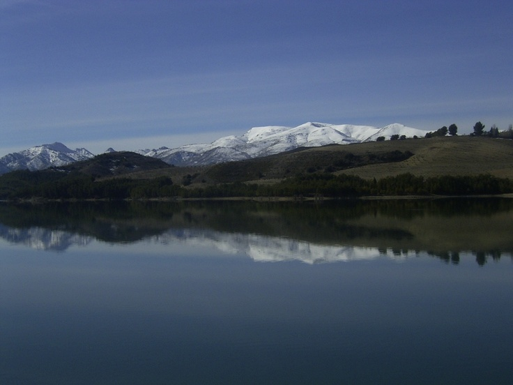 Early springtime - Lake Bermejales, Alhama de Granada, Andalusia. See it for yourself on one of our Premier guided walking holidays. www.alhambrarambler.com