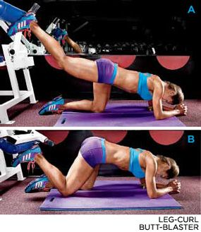 Bodybuilding.com - The Secret To Gorgeous Glutes - EXERCISE 1// LEG-CURL BUTT-BLASTER