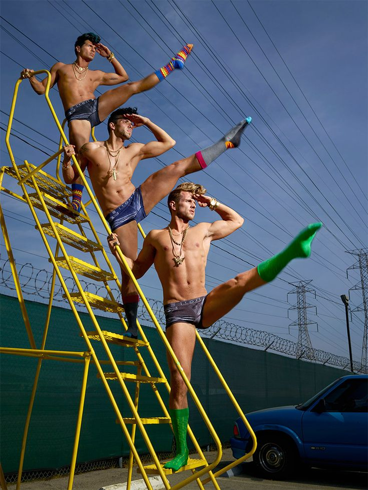 Fucking Young! » Happy Socks by David LaChapelle