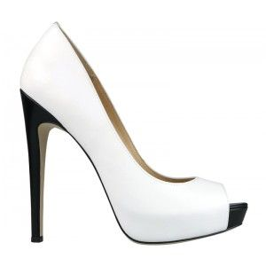 Wittner | Miki White Heel #wittner #heel - City Chic Your Leading Plus Size Fashion Destination