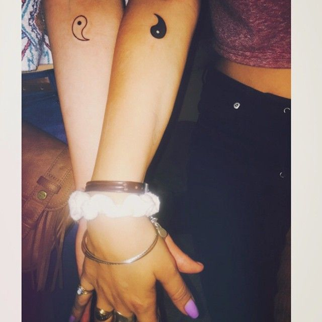 <3 14 Couples That Did Matching Tattoos Totally Right - Part 2 - grabberwocky