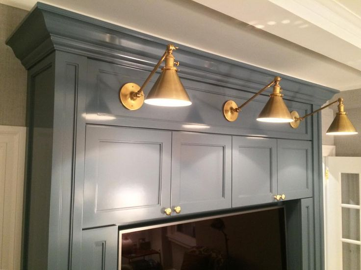 Benjamin Moore Charlotte Slate - a pretty gray-blue paint for kitchen cabinets - Emily C. Butler