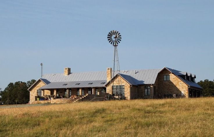 West Texas ranch home that affords a view all the way to Oklahoma. Design by Stephen B. Chambers Architects. - See more at: http://chambersarchitects.com/montague-county-ranch.html#sthash.1HZ7a3Jp.dpuf And see all of our custom ranch homes at: http://chambersarchitects.com/ranches/custom-ranch-home.html