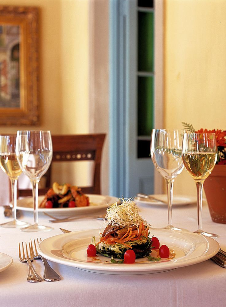 The Monneaux Restaurant in Franschhoek Country House & Villas