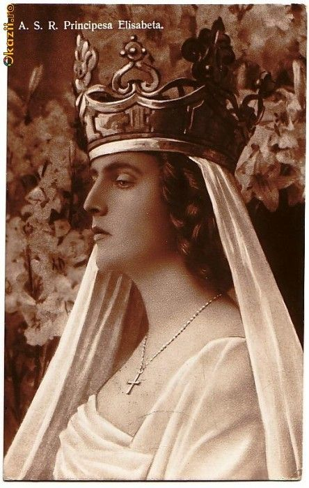 Elisabeth of Romania later queen of Greece
