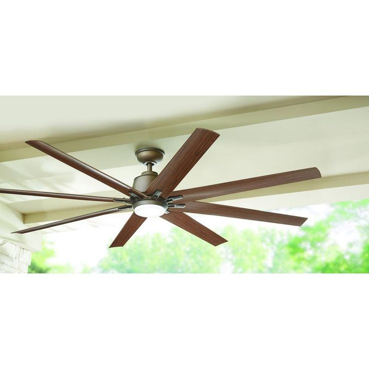 Home Decorators Collection Kensgrove 72 In Led Indoor Outdoor Espresso Bronze Ceiling Fan Yg493od Eb Ceiling Fan Outdoor Ceiling Fans Ceiling Fan With Remote