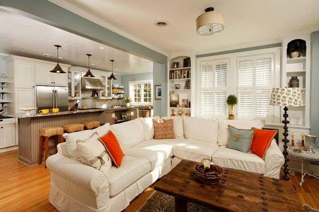 Decorar Una Sala Y Cocina Juntos Salas Y Cocinas Diseno De