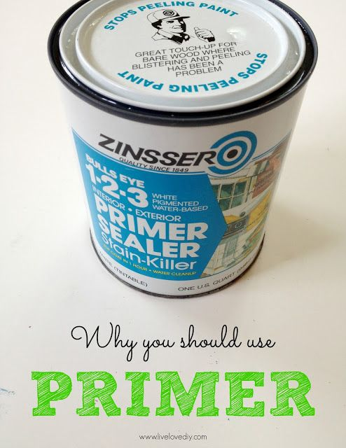 10 Paint Secrets: why you should use primer when painting furniture. Good to know!