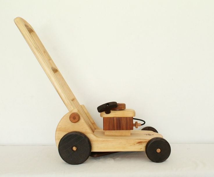 Needle and Nail - Wooden Toy Lawnmower / Walker
