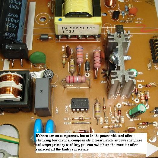 To Make A Variable Smps Driver Circuit Electronic Circuit Projects