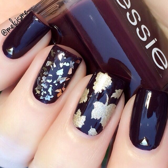 @Melcisme is rockin those deep fall colors! Get Autumn Leaf nail vinyls only at snailvinyls.com!!! - Leaf #NailVinyls  snailvinyls.com