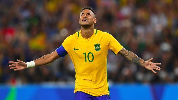 Neymar's golden moment: Brazil tops Germany to win Olympics soccer in Rio