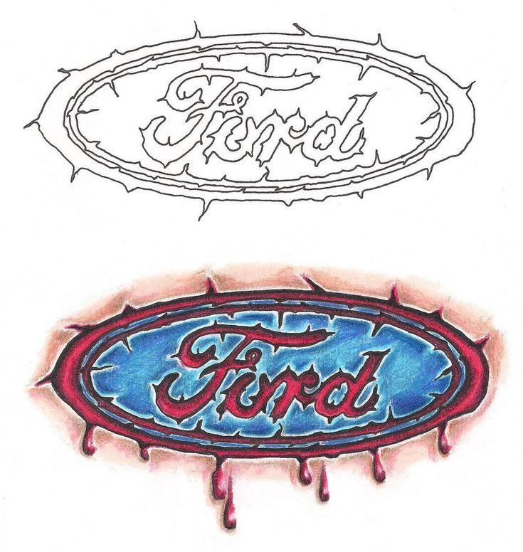Freebies Ford Branded Tattoo Design by TattooSavage on DeviantArt