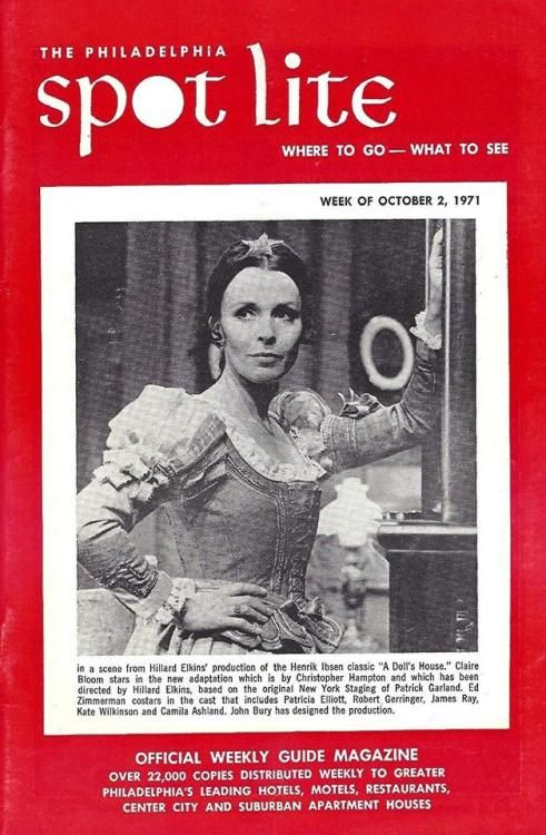 Claire Bloom A Dolls House Henrik Ibsen Claire Bloom Bloom