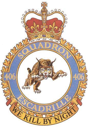 406 Squadron Badge - The Canadian Navy - ReadyAyeReady.com