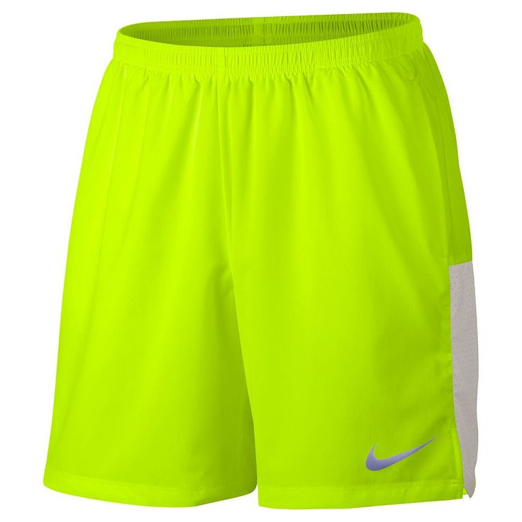 Men's Nike Dri-FIT Performance Shorts, Size: Medium, Drk Yellow