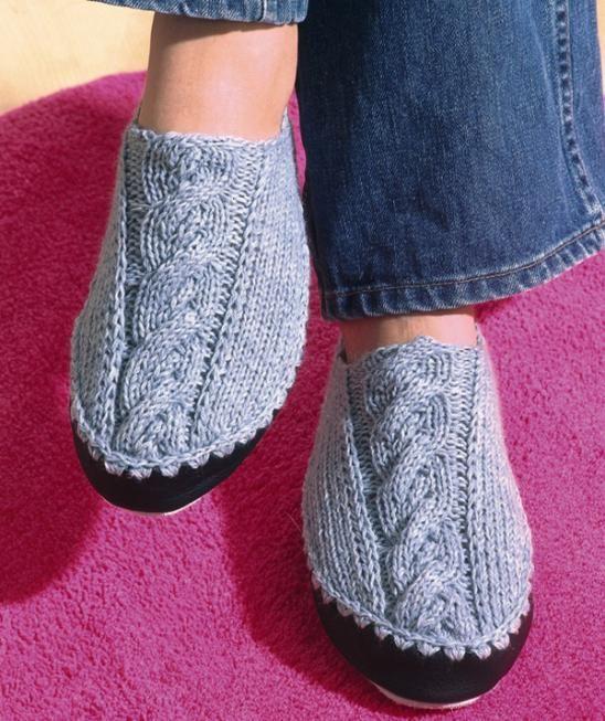 Motif chaussons