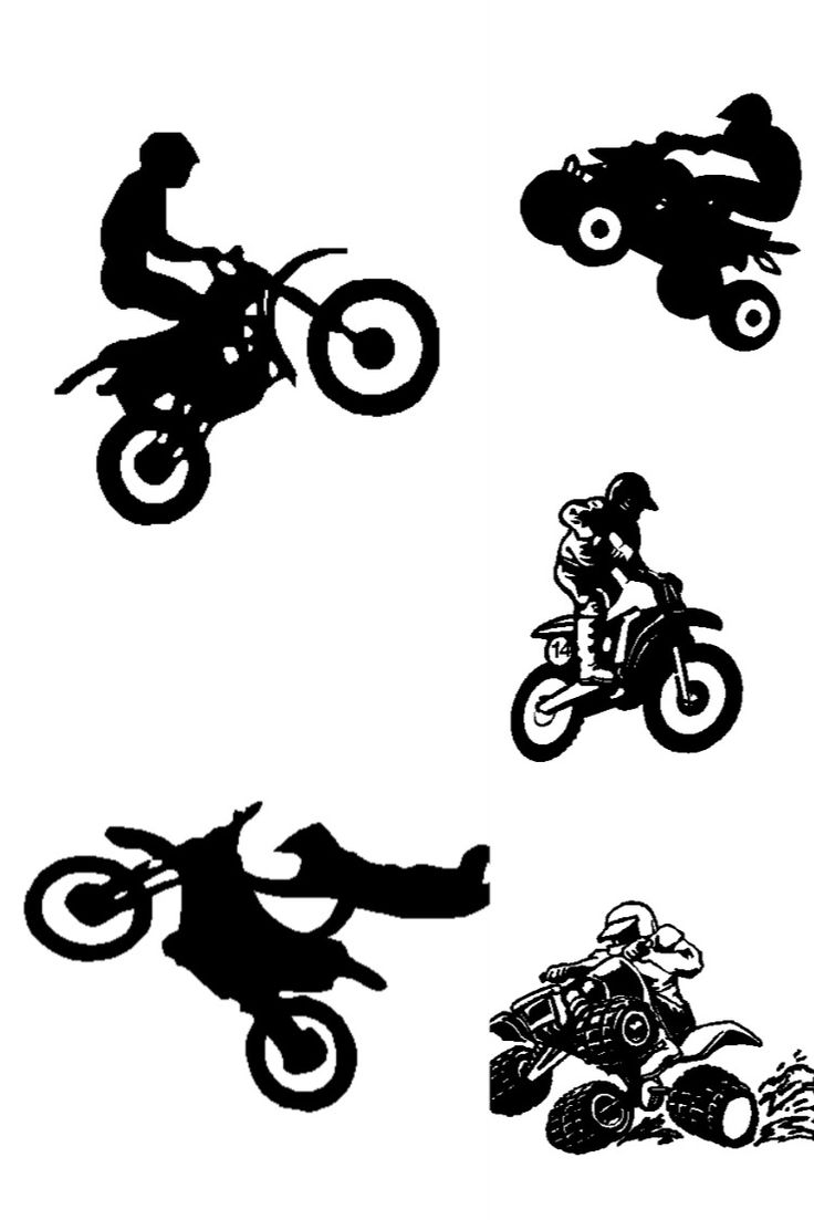 motor cross decals in 2020 Sticker sign, Sign design