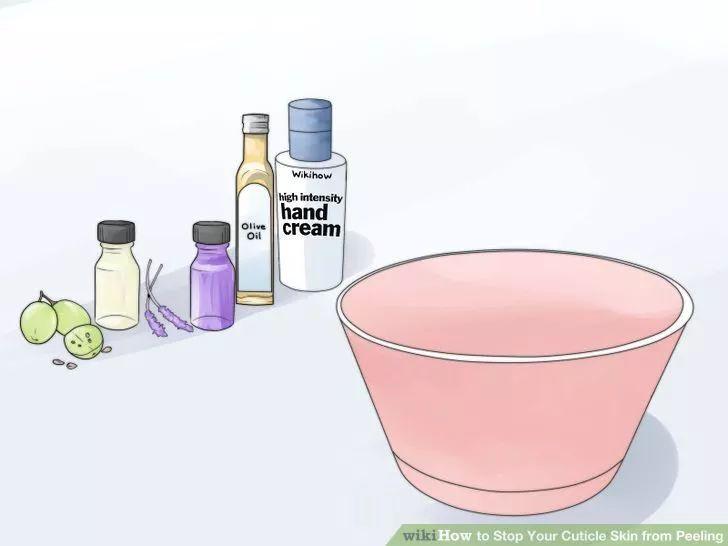 Изображение под названием остановите свой кутикулы кожу от шелушения Шаг 1