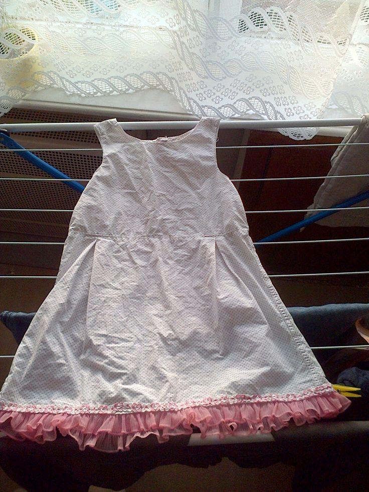 šaty z pánské košile