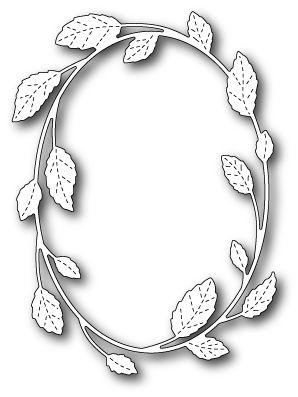Poppystamps Dies | PoppyStamps - Die - Hampstead Oval Frame
