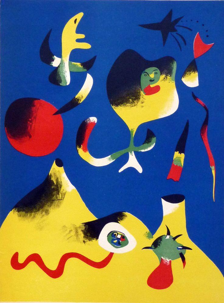 Joan Miro's geometric imagination