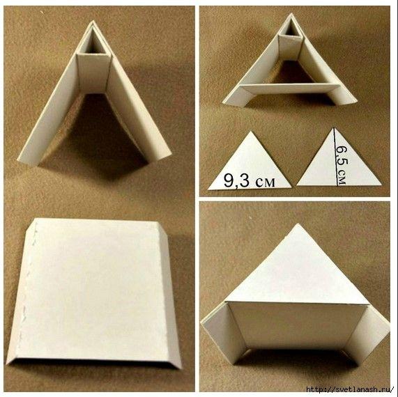 Сказочный домик из бумаги своими руками для вас и ваших детей