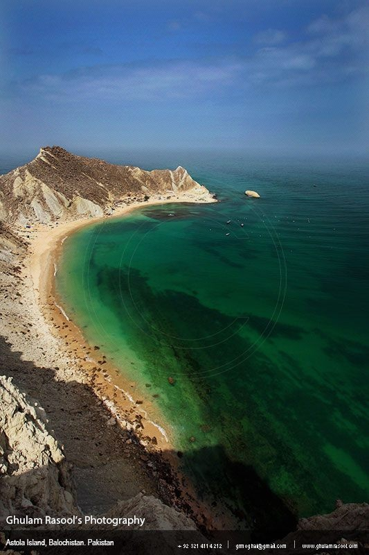 ASTOLA –the largest island in Pakistan–is six kilometres in length and administratively comes under Pasni subdivision of Gwadar District.