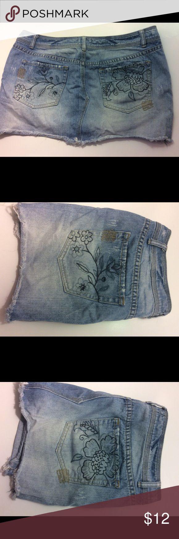 Spotted while shopping on Poshmark: 💙 Blue Jeans mini skirt 💙! #poshmark #fashion #shopping #style #Aeropostale #Dresses & Skirts