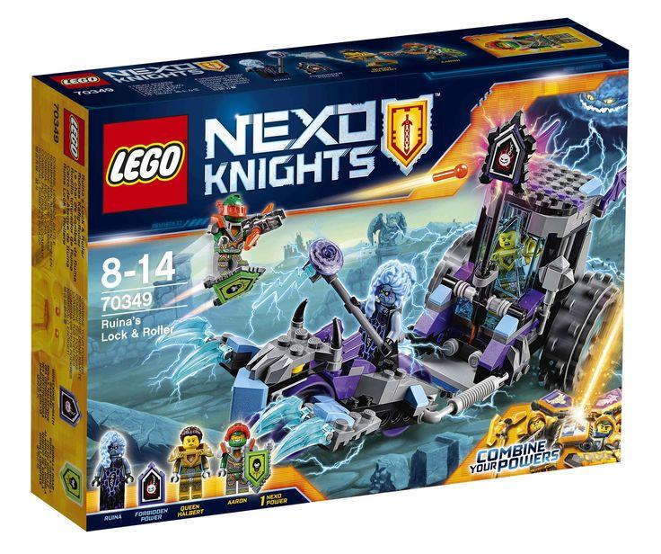 #Lego #LEGO® #70349   LEGO NEXO KNIGHTS Ruinas Käfig-Roller  Alter: 8-14, Teile: 208.    Hier klicken, um weiterzulesen.  Ihr Onlineshop in #Zürich #Bern #Basel #Genf #St.Gallen