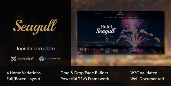 Seagull - Hotel & Resort Joomla Template - Travel Retail