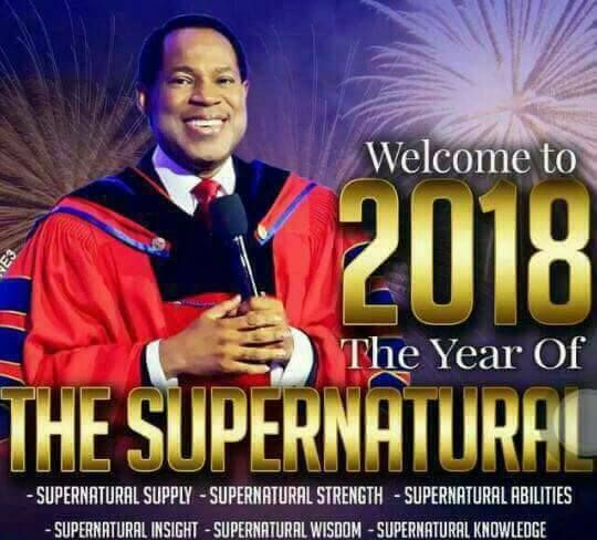 Claim yours; Pastor Chris Oyakhilome's Prophetic Declarations For 2018 - Gistpluse