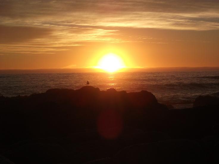 puesta de sol (Chile)
