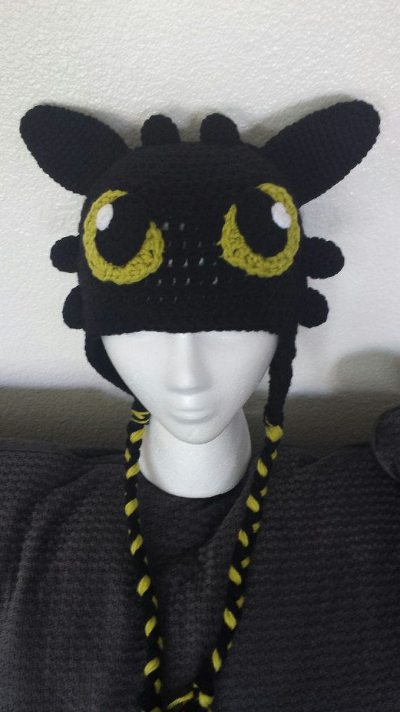 Toothless Crochet Hat Pattern                                                                                                                                                                                 More